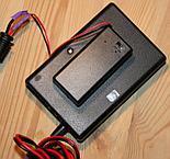 Przerobiony na zasilanie bateryjne kontroler HitecAstro